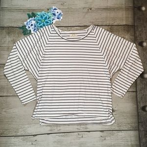 Madewell Oversized Dolman Sleeve Striped T-Shirt
